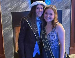 Lesbian prom king and queen