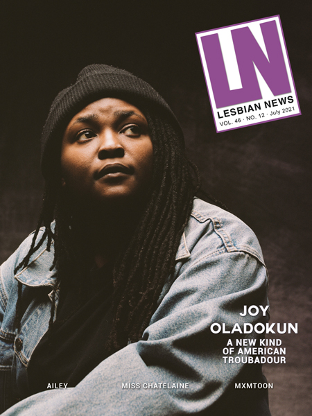 Lesbian News July 2021 Issue