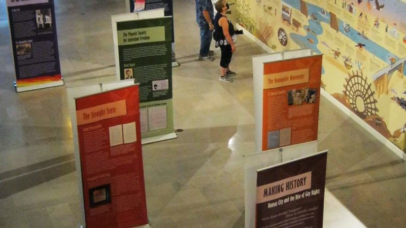 Missouri state capitol LGBT exhibit
