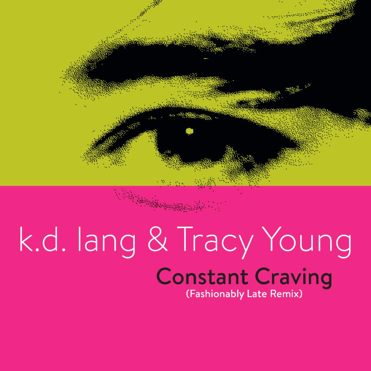 k.d. lang and Tracy Young